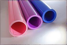 Custom color matched polypropylene sheet