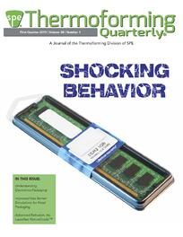 Thermoforming Quarterly Cover