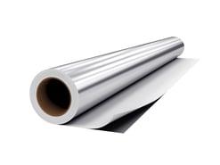 decorative metallized film extrusion lamination